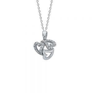 Triple heart wrap Pendant
