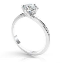 Diamond Ring Platinum-6-claw-round-Cut-diamond-Solitaire-engagement-ring-Serenade Round
