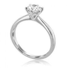 Platinum-6-claw-round-Cut-diamond-Solitaire-engagement-ring-Serenade Round