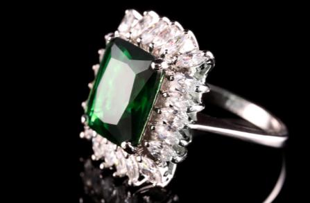 Hatton Garden Emerald Engagement Ring
