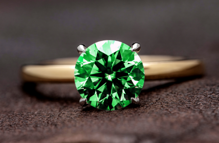London Emerald Solitaire