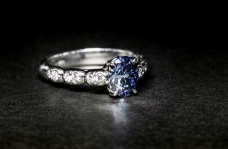 Hatton Garden Sapphire Engagement rings