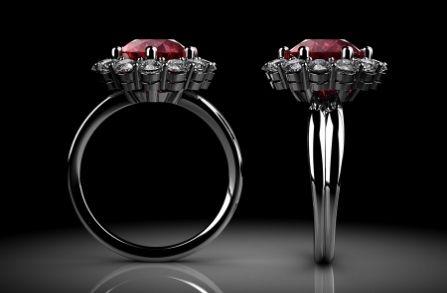 Ruby Engagement Ring UK