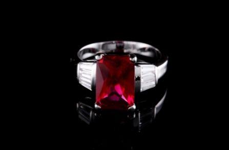 Ruby Engagement Rings hatton garden