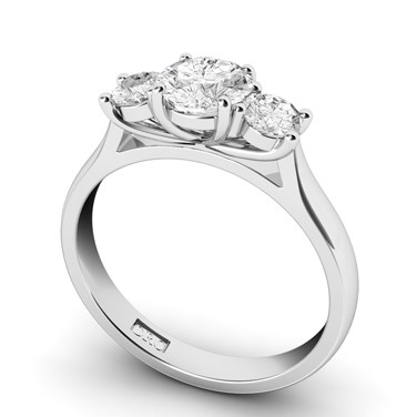 Jolie Diamond Engagement Ring